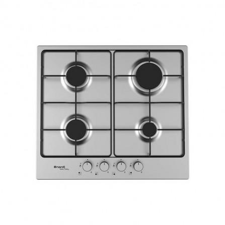 Plaque de cuisson NARDI avec Fonte 4 Feux 60 cm - Inox (VH40AVX.T001)