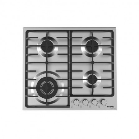 Plaque de cuisson NARDI avec Fonte 4 Feux 60 cm - Inox (VG43AVX.T001)