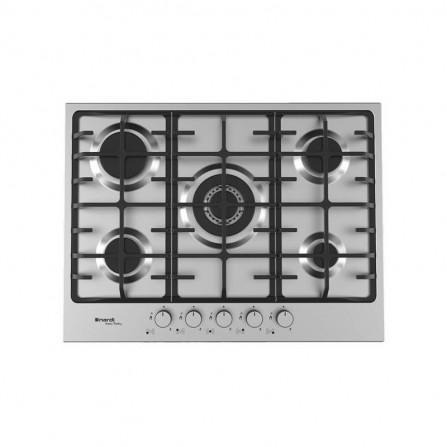 Plaque de cuisson NARDI avec 5 Feux 70 cm  - Inox (VG55AVX.T001)