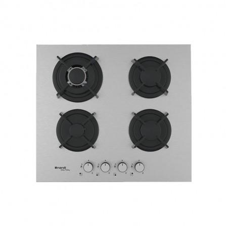 Plaque de cuisson NARDI avec Fonte 4 Feux  60cm - Inox (FLG643AVX.T001)