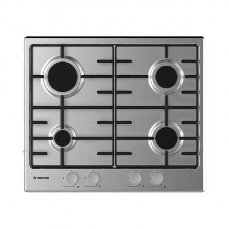 Plaque de cuisson Hoover 4 Feux 60 cm - Inox (HHW6BRMX)