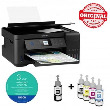Imprimante à Réservoir Intégré EPSON ECOTANK ITS L4160 3en1 Couleur - (C11CG23402)