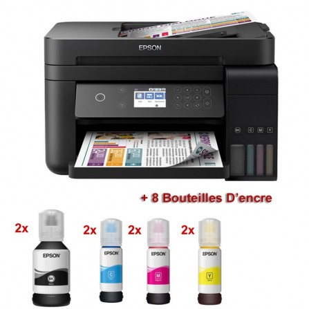 Imprimante Epson Multifonction 3en1 Ecotank IT S L6170