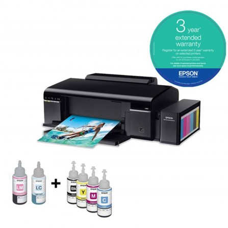 Imprimante Photo EPSON L805 Couleur - Wifi - (C11CE86402)