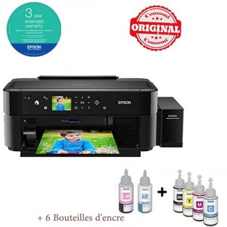 Imprimante Photo à réservoir intégré EPSON L810 Couleur - (