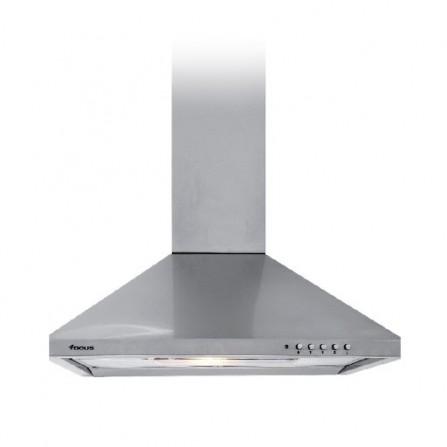Hotte pyramidale Focus 60cm - Inox (F.605X)