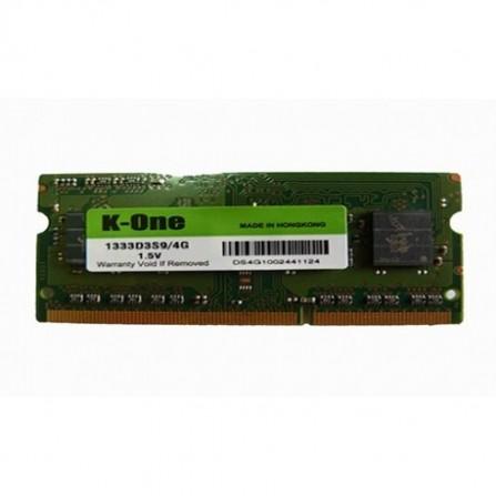 Barette Memoire K-one 4 Go DDR3 1333 mhz