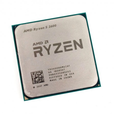 Processeur AMD RYZEN 5-2600 TRAY- 3.40 Ghz