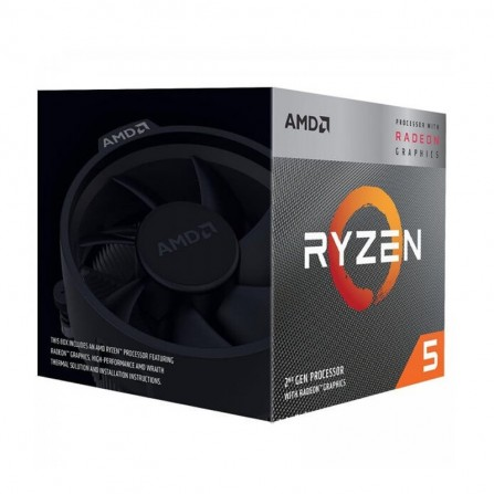 Processeur AMD RYZEN 5 3400 BOX 3.7 GHz