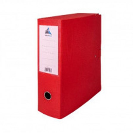 Boite d'archives OfficePlast Essential DOS DE 10 cm - Rouge ( 1300230)