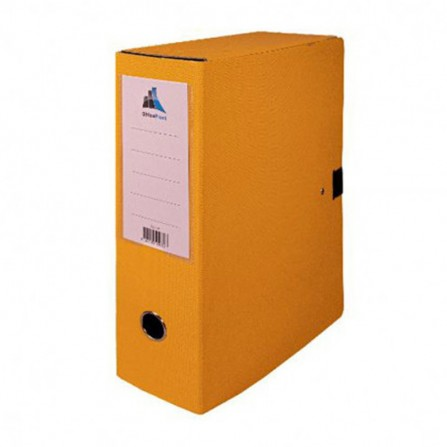 Boite d'archives OfficePlast Essential DOS DE 10 cm - Jaune ( 1300230)