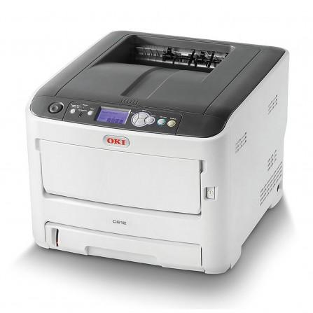 Imprimante OKI A4 couleur reseau recto-verso - (C612DN)