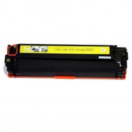 Toner Adaptable HP 128A - Jaune (CE322)