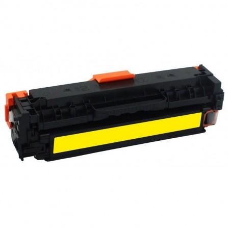 Toner Adaptable HP LaserJet 201A - Jaune (CF402A)
