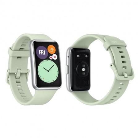 Montre Connecté HUAWEI Watch Fit - Vert (HU-WFIT-GREEN)