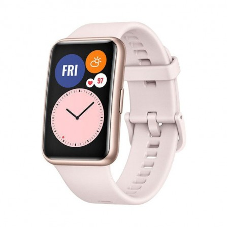 Montre Connecté HUAWEI Watch Fit - Rose (HU-WFIT-PINK)