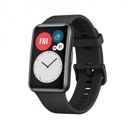 Montre Connecté HUAWEI Watch Fit - Noir (HU-WFIT-BLACK)