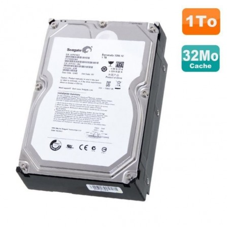 "Disque Dur interne 3.5"" 1To Seagate SATA - (ST31000524S)"