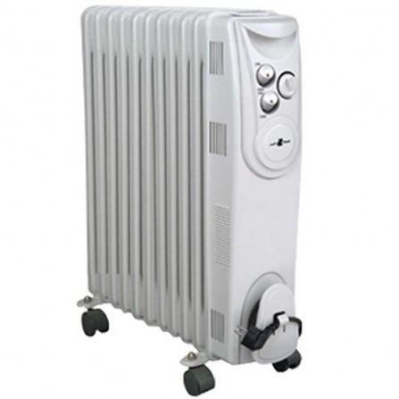 Radiateur bain d'huile COALA 9 éléments 2000 WattS - Blanc (BH20N)
