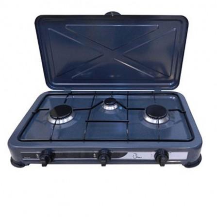 Plaque de cuisson COALA 3 Feux - Gris (RC3 F)