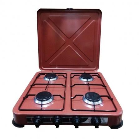 Plaque de cuisson COALA 4 Feux - Marron (R4 F)