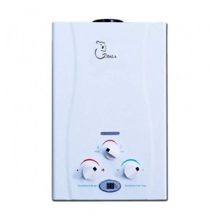Chauffe bain à gaz COALA GPL (Bouteille) 10 Litres avec adaptateur - (CB10LGPL-A)