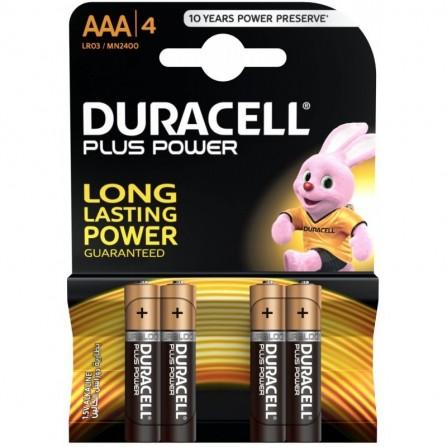 4x Piles Duracell AAA Alkaline LR03 (5000394127326)