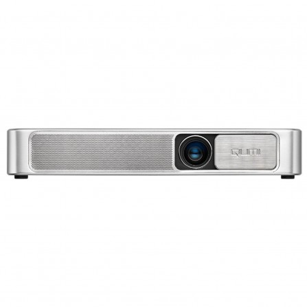 Vidéoprojecteur de poche Vivitek Qumi Q3 Plus avec Wi-Fi Bluetooth et HDMI - Blanc (Q3plus-WH)