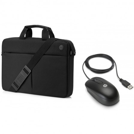 Pack HP Prelude Sacoche Top Load + Souris HP USB