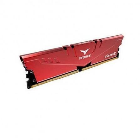 Barrette Mémoire TEAM GROUP LONGDIMM 8Go DDR4 Vulcan Z Pour PC De Bureau 2666 Mhz -Rouge (TLZRD48G2666HC18H01)