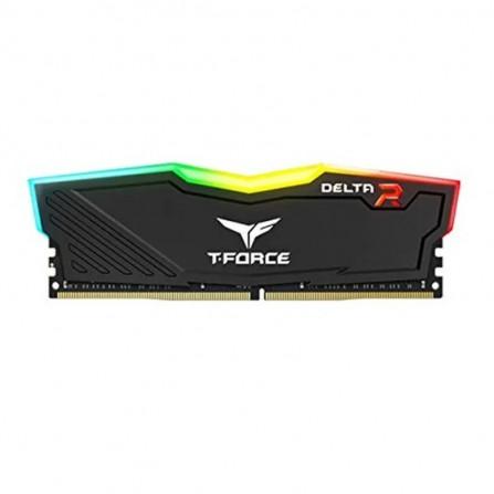 Barrette Mémoire TEAM GROUP LONGDIMM 8Go DDR4 RGB Pour PC De Bureau 2666 Mhz -  Noir (TF3D48G2666HC15B01)