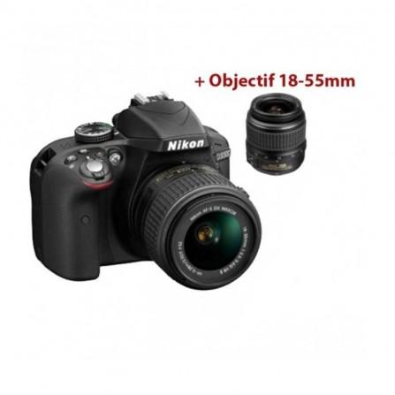 Appareil Photo reflex numerique NIKON D3500 body (D3500 BK ME)