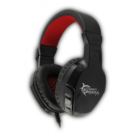 Micro casque Gamer WHITE SHARK PANTHER - Noir (GHS-1641 )
