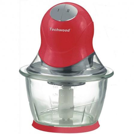 Mini Hachoir électrique Techwood 300 Watt 1L - rouge(THA-085)