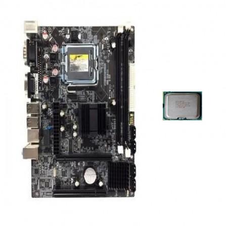 Carte mère G41 avec CPU E6300