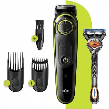 Tondeuse à Cheveux et Barbe BRAUN - Noir (BT3241)