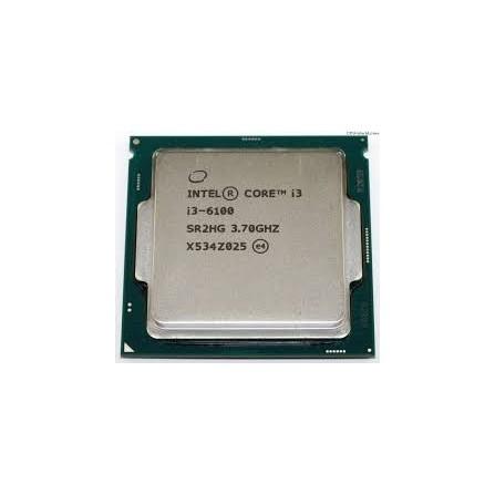 Processeur Intel Core i3-6100 6ème Génération