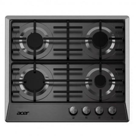 Plaque de Cuisson Acer 4 Feux 60 cm - Noir (A6400-ES)