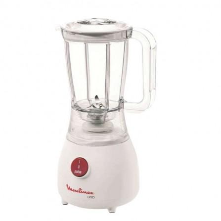 Blender Moulinex Uno 350 Watt - 1.25L - Blanc(LM2201B1)
