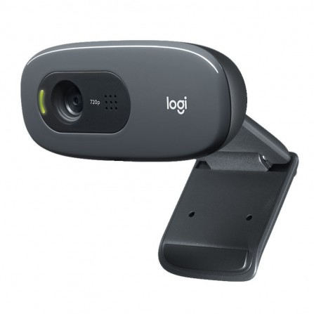 Webcam Logitech HD C270 - Noir (960-001063)
