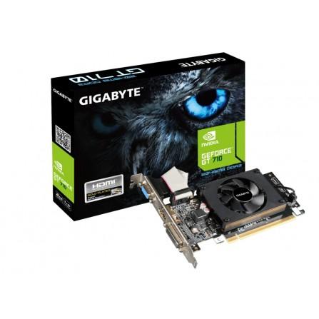 Cartes graphiques Gigabyte GeForce GT 710 2 Go (GV-N710D3-2GL)