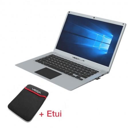 PC Portable VEGABOOK Plus 14 Quad Core 4Go 64Go - Silver (VEGABOOK-PLUS)