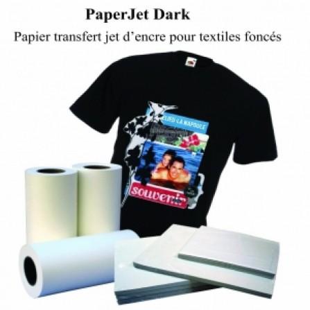 Papier Transfer Dark jet Encre A4 10PCS