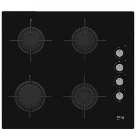 Table de cuisson encastrable Beko en Noir 4 Feux - Largeur 60cm (HIZG64120S)