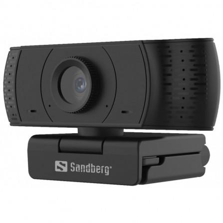 WEBCAM USB SANDBERG OFFICE FULL HD 1080P - 2MP (134-16)