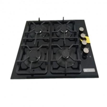 Plaque de cuisson FRANCO 4 feux vitro 60 cm support fente- Noir (60349-BF)
