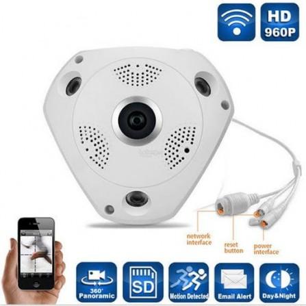 Caméra de surveillance - WIFI - PANORAMIC 360° VR CAM ( V888R)
