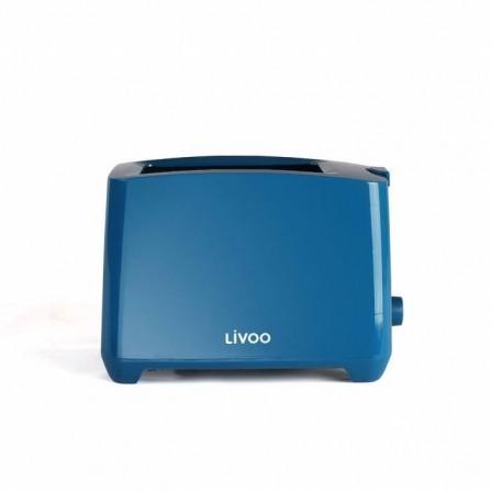 Grille-pain  LIVOO  750 Watt  - Bleu (DOD162B)