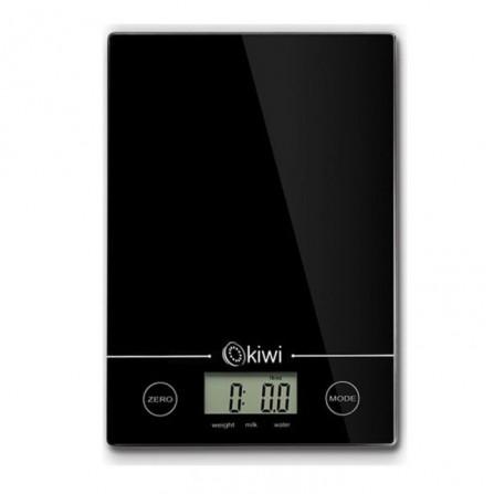 Balance de cuisine numérique Kiwi 5Kg  - Noir  (KKS-1123)