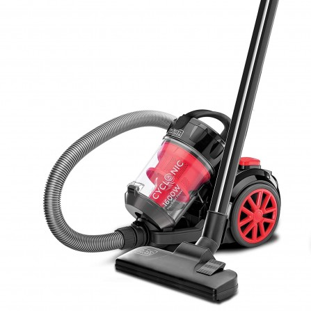 Aspirateur Black&decker  - 1600Watt - Rouge (VM1680)